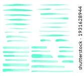 mint neon green  light emerald... | Shutterstock .eps vector #1931628944