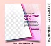 sale social media post or... | Shutterstock .eps vector #1931636684