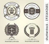 attorney and lawyer bureau... | Shutterstock .eps vector #1931642681