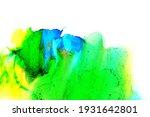 abstract fluid ink art... | Shutterstock . vector #1931642801