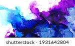 abstract fluid ink art... | Shutterstock . vector #1931642804