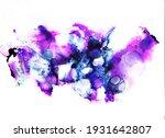 abstract fluid ink art... | Shutterstock . vector #1931642807