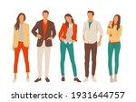 set of young men and women ...   Shutterstock .eps vector #1931644757