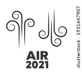 wind icon set. air icons set | Shutterstock . vector #1931647907