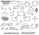 vector marker elements vol. 2 | Shutterstock .eps vector #193165295