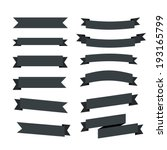 ribbon icons | Shutterstock vector #193165799