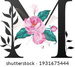 beautiful alphabet collection... | Shutterstock .eps vector #1931675444
