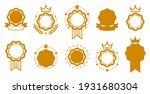 blank vector vintage classic... | Shutterstock .eps vector #1931680304