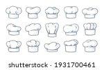 cook hat. cartoon cooker...   Shutterstock .eps vector #1931700461