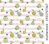 summer seamless pattern with... | Shutterstock . vector #1931707367