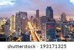 bangkok cityscape  business... | Shutterstock . vector #193171325