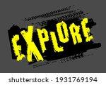 off road hand drawn grunge... | Shutterstock .eps vector #1931769194