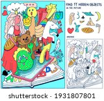 find hidden objects. picture... | Shutterstock .eps vector #1931807801