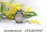 Cute Toy Totoro And Mimosa...