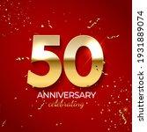 anniversary celebration...   Shutterstock .eps vector #1931889074
