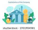 capitalization of a company... | Shutterstock .eps vector #1931904581