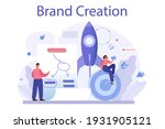 brand creation concept.... | Shutterstock .eps vector #1931905121