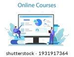 business top management online... | Shutterstock .eps vector #1931917364