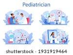 pediatrician concept set.... | Shutterstock .eps vector #1931919464