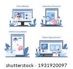 neurologist online service or... | Shutterstock .eps vector #1931920097