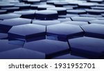 abstract hexagon geometric...   Shutterstock . vector #1931952701