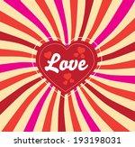 love vintage  | Shutterstock .eps vector #193198031