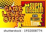 gaming level  game progress... | Shutterstock .eps vector #1932008774
