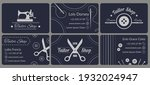 collection of stylish business... | Shutterstock .eps vector #1932024947