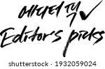 editor's pick news keyword... | Shutterstock .eps vector #1932059024