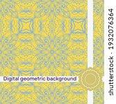 geometric decorative seamless...   Shutterstock .eps vector #1932076364