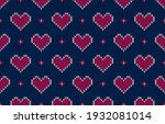 fabric morocco. valentine's day ...   Shutterstock .eps vector #1932081014