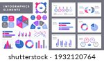 assortment of infographics... | Shutterstock .eps vector #1932120764