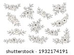 hand drawn collection of line...   Shutterstock .eps vector #1932174191