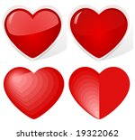 illustration  hearts. for the... | Shutterstock . vector #19322062