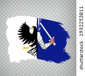 flag province connacht brush...