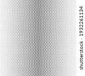 halftone dot. seamless pattern. ... | Shutterstock .eps vector #1932261134