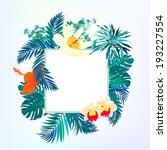 vector illustration of square...   Shutterstock .eps vector #193227554