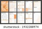 vector planner pages templates. ...   Shutterstock .eps vector #1932288974