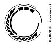 geometric segmented circle ...