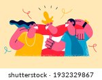 happy friendship day...   Shutterstock .eps vector #1932329867