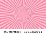 vibrant pink sunburst pattern... | Shutterstock .eps vector #1932360911