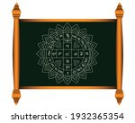thai board and mythical symbols ...   Shutterstock .eps vector #1932365354