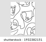 minimal and abstract continuous ...   Shutterstock .eps vector #1932382151