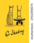 Go Skating Postcard....