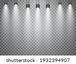 vector spotlights. scene. light ...   Shutterstock .eps vector #1932394907