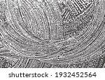 grunge texture. distress black... | Shutterstock .eps vector #1932452564