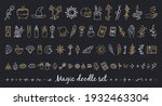 a magical set of doodle style...   Shutterstock .eps vector #1932463304