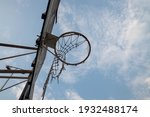 Old Basketball Hoop At  Faculty ...