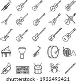 Musical Instruments Simple Flat ...