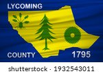 flag of lycoming county ... | Shutterstock . vector #1932543011
